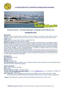 2015 - Ponta dos Corvos - Informações Úteis
