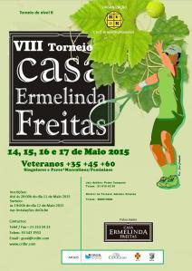 Cartaz Ermelinda de  Freitas VIII
