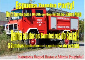 EVENTO ESPUMA ZUMBA PARTY