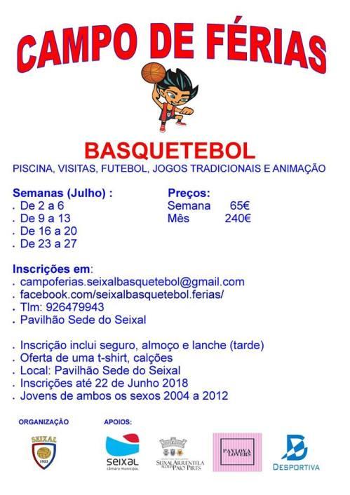 324 - Campo Férias Basquetebol